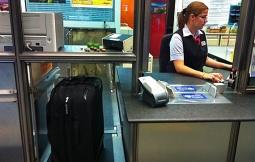 bagagem peso extra