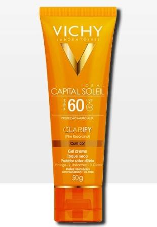 Resenha – Protetor Solar Vichy Clarify FPS60