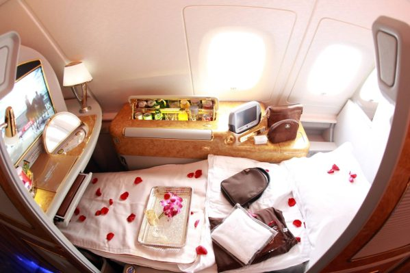 classe executiva emirates