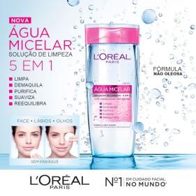 LOREAL ÁGUA MICELAR 5 EM 1