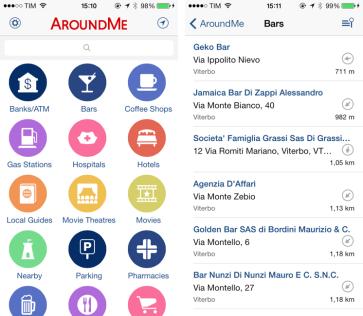 around me aplicativo economize em viagens