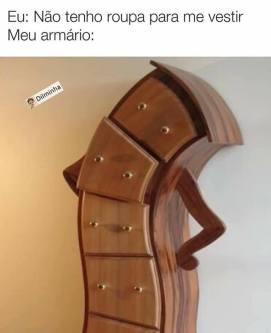 POR QUE MULHERES NUNCA TEM ROUPA MESMO COM O GUARDA ROUPA CHEIO
