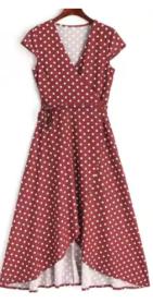 vestido maxi dresses poá