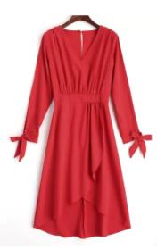 vestido maxi dresses vermelho