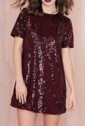 vestido vinho vermelho noite