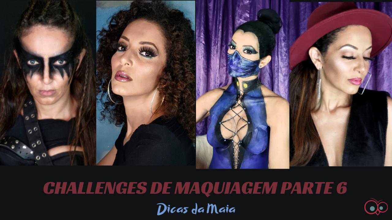 CHALLENGE DE MAQUIAGEM