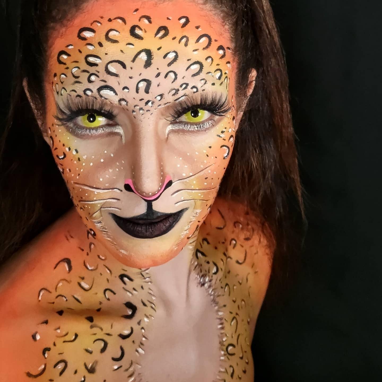 onça pintada make up