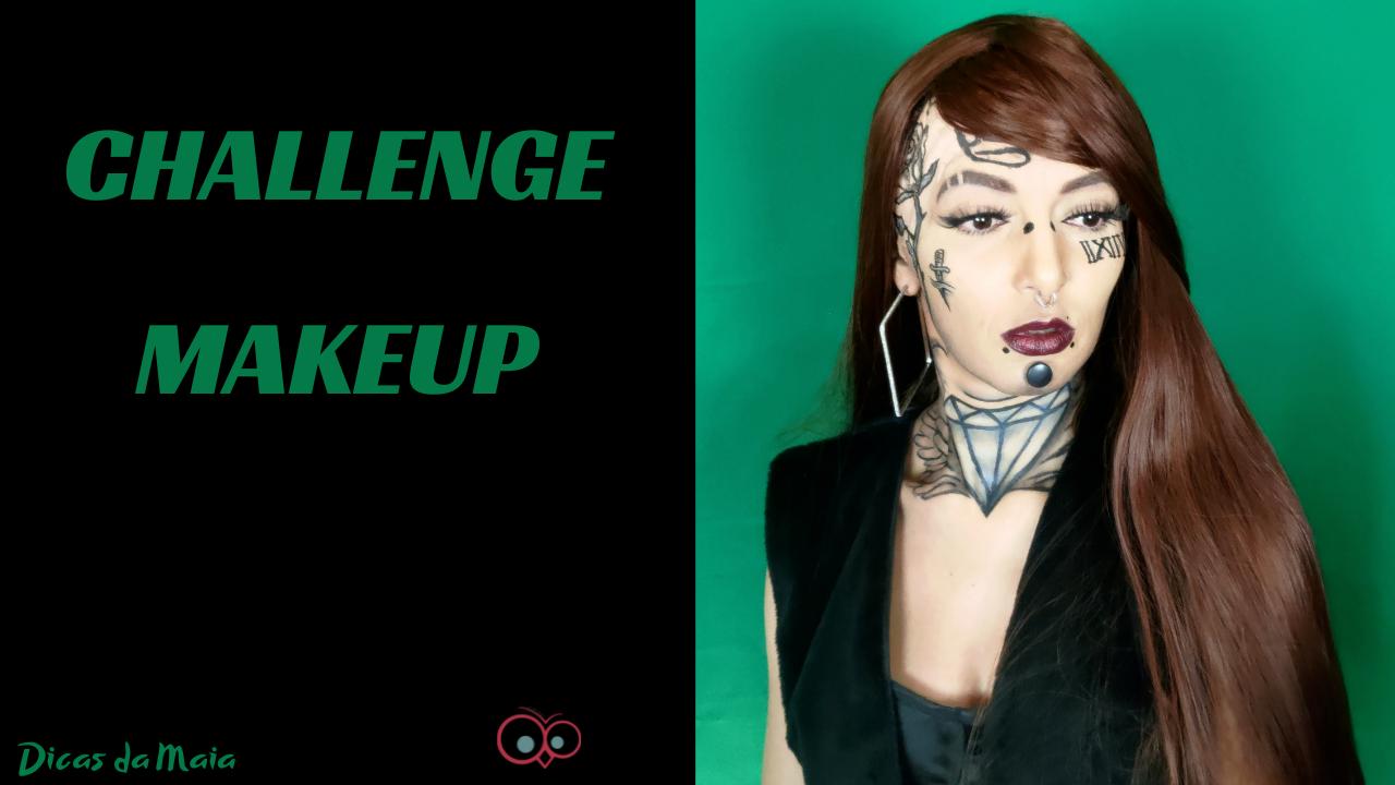 CHALLENGE MAKEUP ROCK