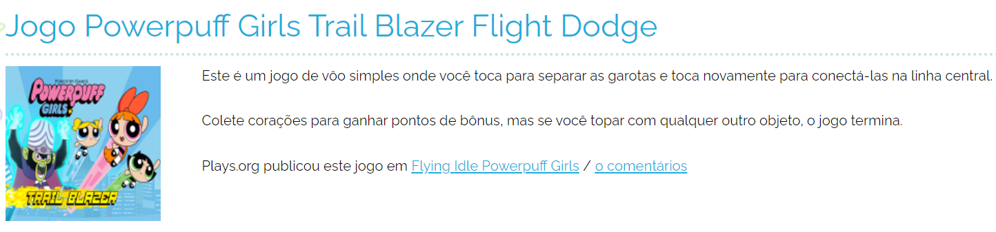 jogos on line meninas superpoderosas