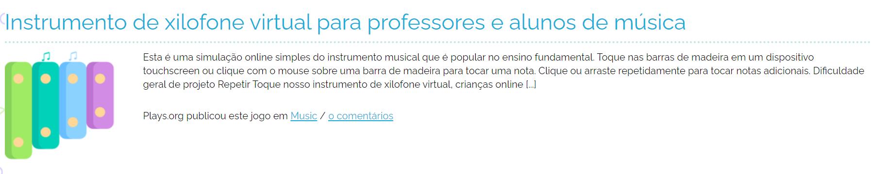 jogos on line música