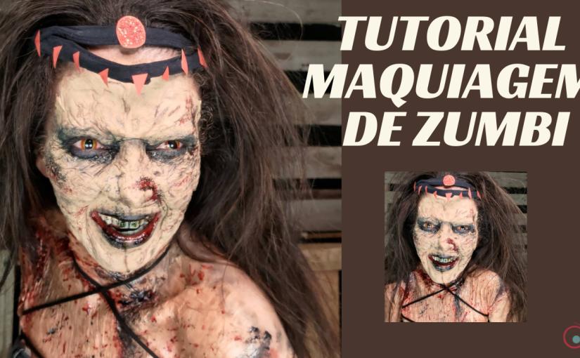 Tutorial de Maquiagem para Halloween –Zumbi