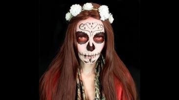 Dicas da Maia. Halloween Makeup