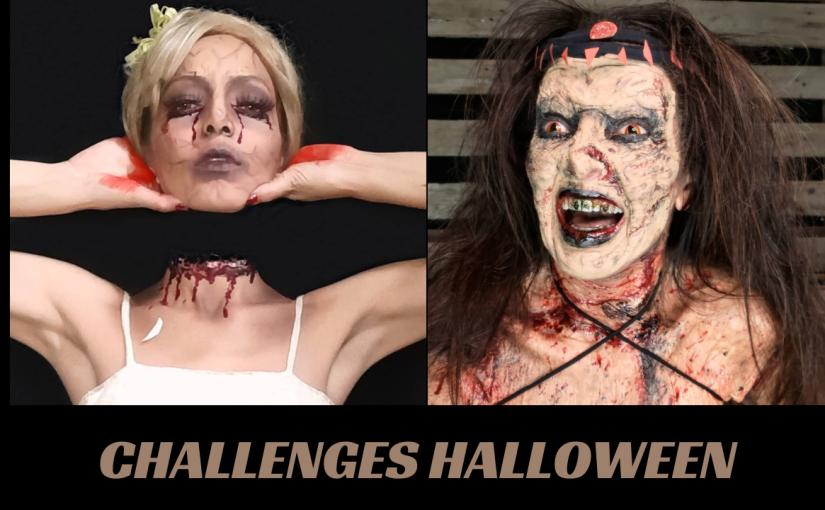 Challenges de Maquiagem para o Halloween – Parte1