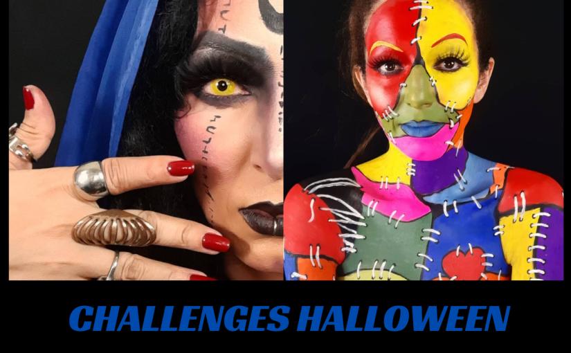 Challenges de Maquiagem para o Halloween – Parte2